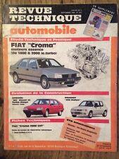 Revue Technique Automobile FIAT Croma moteurs essence de 1600 à 2000 ie.turbo