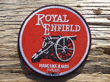 ECUSSON PATCH THERMOCOLLANT aufnaher toppa ROYAL ENFIELD moto motorcycle motard