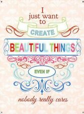 I just want to create Beautiful Things Sewing Home Gift Novelty Fridge Magnet