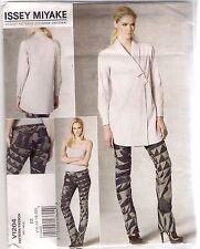 Vogue Sewing Pattern 1204 Issey Miyake Tunic Jacket & Pants, Size 6 - 12, Uncut