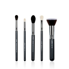 Jessup 5Pcs High Quality Pro Makeup Brush Set Make Up Brushes Kit Tools T125
