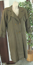 Womens Size 6 * THE WATER'S EDGE * Michelle Stuart Jacket Coat Trench Coat