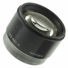 Rodenstock TV-Heligon 50mm 0.75 Lens