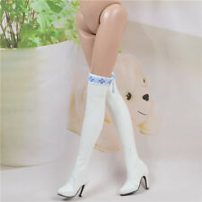 "Sherry white boots Shoes Clothes for 16"" Tonner Doll Ellowyne Wilde Antoinette"