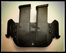 Kydex Double  Magazine Holster – M&P 9/40 Regular Black