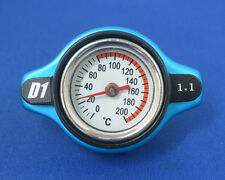 D1Spec Thermost Radiator Cap+Water Temp gauge 1.3 BAR Cover LARGE HEAD