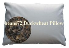 "Organic Buckwheat Pillow - Japanese size 14"" x 20"""