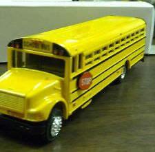 "Die Cast Yellow School Bus 8 1/2"" long Authentic Scale Model International 3000"