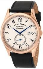 Stuhrling 171B 334532 Cuvette Classic Slim Automatic Rose Tone Mens Watch