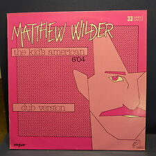 "MAXI 12"" MATTHEW WILDER The kid's american 311051"
