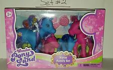 New Wonder Pony Land Horse Family Sets-Great Gift for Little Girls +3 and Up
