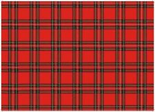 Royal Stewart Tartan Tea Towel Souvenir Gift Scottish