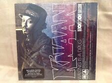 K'naan Record Store Day Promo 45 - Waiting Is A Drug / With God On Our Side! H11