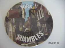 YORK SHAMBLES PICTURE BADGE