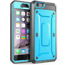 Dustproof Shockproof Hybrid Rubber TPU Cover Case for Apple iPhone 6 6S Plus