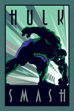 MARVEL HULK ART DECO 91.5X61CM POSTER NEW OFFICIAL MERCHANDISE PYRAMID