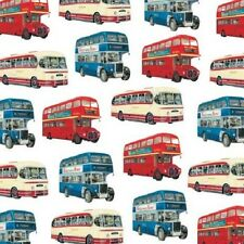 Classic Buses by David Bailey Happy Birthday greetings card Double Decker Bus