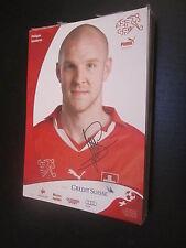 47308 Philippe Senderos Schweiz Nationalmannschaft unsignierte Autogrammkarte