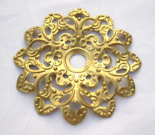 Flower Filigree 47mm Brass Findings for Jewelry Design bf219 (6pcs)