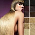 100% Remy Echthaar Extensions Strähnen Clip In Hair Haarverlängerung 40-65cm