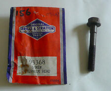 Briggs & Stratton 93368 Screw Cylinder Head NOS OEM mower spare parts #156