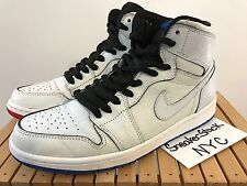2014 Nike SB Air Jordan 1 SB QS Lance Mountain White Mens US 8.5 Bred Royal AJ1