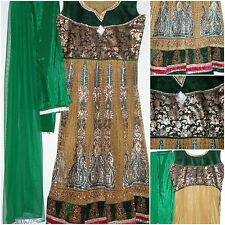 Pakistani Indian Formal Fancy Wedding Party Wear Salwar Kameez Embroidred dress