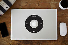 "iPod Wheel Vinyl Decal Sticker for Apple MacBook Air/Pro 12"" 13"" 15"""