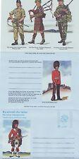GB Stamps Aerogram / Air Letter APS43 - 12p Regimental Centenaries Issue 1979