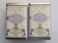 2 Pack Castelbel Scented Bar Soap  Gift Paper Lavender Triple Milled