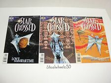 Star Crossed #1-3 Comic Lot DC Helix 1997 2 Mini Series Matt Howarth SciFi Love
