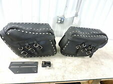 97 Honda GL1500 C GL 1500 Valkyrie saddlebags saddle bags luggage leather