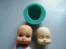 Silicone Mould BABY FACE Sugarcraft Cake Decorating Fondant / fimo mold