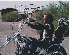 Peter Fonda Easy Rider autographed 8x10 photo with COA by CHA