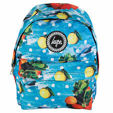 New Hype Dolphin Fruits Print Backpack Animal Fish Large Bag Rucksack School NEW