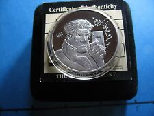 GAMBIT X-MEN MARVEL COMICS SUPER HERO 999 SILVER ROUND COIN BOX COA RARE COOL