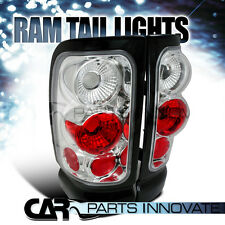 Dodge 94-01 Ram 1500 2500 3500 Tail Lights Rear Brake Lamp Altezza Chrome