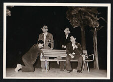 Antique Photograph Hobos By Park Bench Ricardo Corpion Cuba Castro