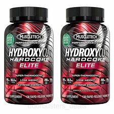 Hydroxycut Elite - Super Thermogenic Hardcore Weight Loss by MuscleTech 100 Caps
