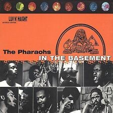 The Pharaohs - In the Basement CD 1997 Luv N' Haight Reissue VERY GOOD OOP CHEAP