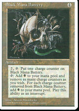 MAGIC THE GATHERING 4TH EDITION ARTIFACT BLACK MANA BATTERY