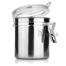Stainless Steel Sealed Airtight Canister Coffee Tea Sugar Container 980ML