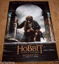 The Hobbit The Battle Of The Five Armies Original Promotional Movie Poster 11X17