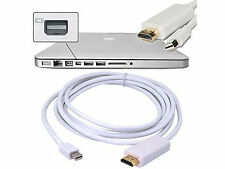 6ft Thunderbolt Mini DisplayPort DP to HDMI Adapter Cable for Apple Mac Macbook