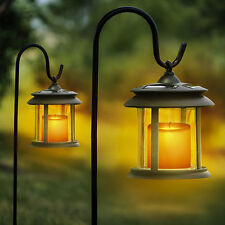 Flicker Candle Solar Lantern LED Lights - 4 Pack