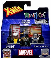 2015 MARVEL MINIMATES SERIES 60 X-MEN BROTHERHOOD STORM VS AVALANCHE FIGURES MIP