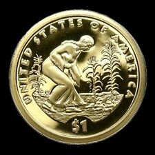 2009-S Gem Proof Sacagawea Golden Dollar Deep Cameo Native American $1