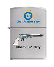 UBERTI 1851 Navy 50th Anniversary ZIPPO LIGHTER .