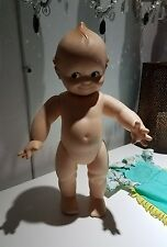 Vintage KEWPIE DOLL by Cameo Marked 11-7-67 Plastic Vinyl 15 inches