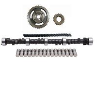 GM CHEVY SBC 283 305 350 5.7L HP RV CAMSHAFT & LIFTERS TIMING CHAIN 420/443 LIFT
